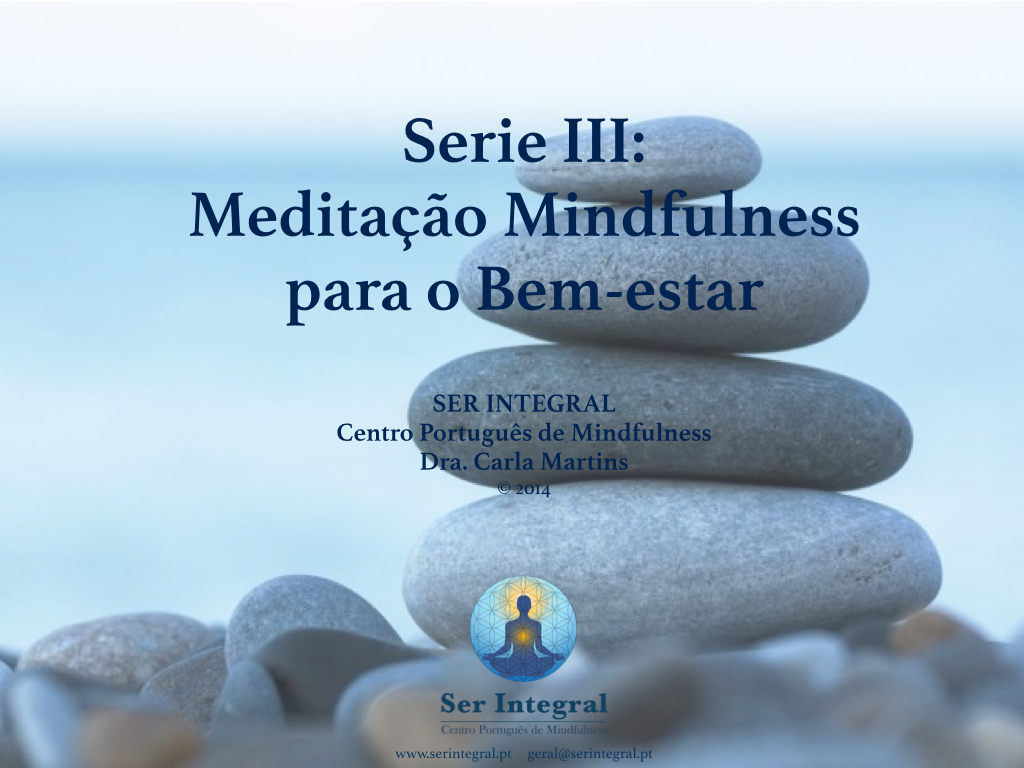 Series 3 CDs Mindfulness Bem estar